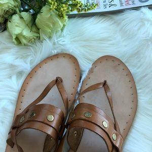 3d4945001ba Frye Shoes - FRYE Avery Stud Thong Flat Sandal